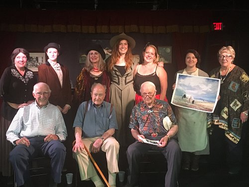 """Cast with Cody """"Old Timers"""" who told their own stories after the show!"""
