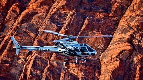 Grand Canyon Helicopter Tour above and below the rim