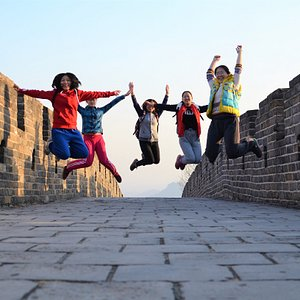 A wonderful day on the Great Wall