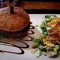 Hamburger double, Black angus