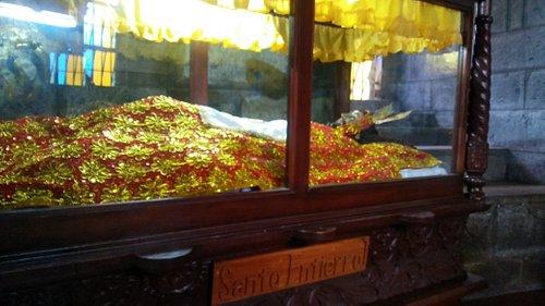 santo entierro