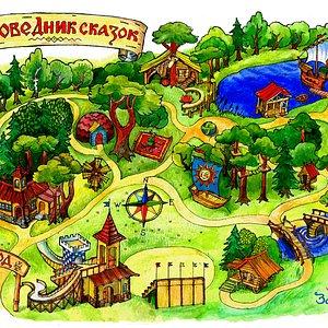 "Карта ""Заповедника сказок"""