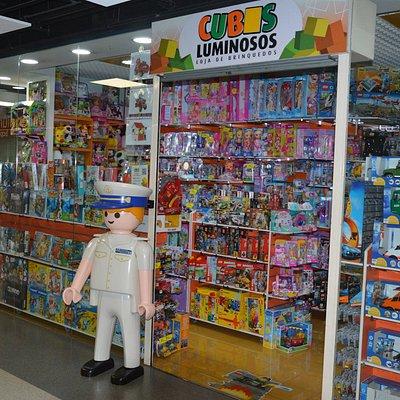 Agora a Loja Cubos Luminosos do Anadia tem o Capitão como nova mascote da PLAYMOBIL