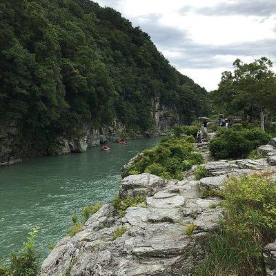 Iwadatami rocks