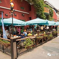 The best outside seating area in Shekou