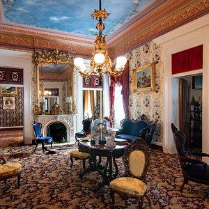 The Central Parlor, Belmont Mansion, Restored 2017