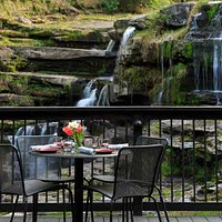Dine by the falls!