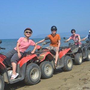 Kusadasi Quad Safari - the Beach Quad :)