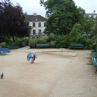 Aire de jeux pour jeunes enfants