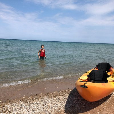 Kayak rental from the Outfitter of Harbor Springs, MI