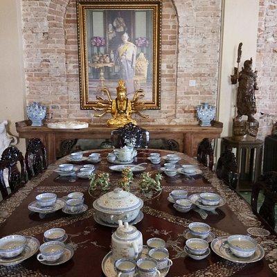 ห้องอาหารผสมมลายูและจีน