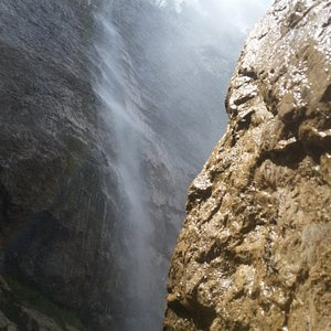 La cascata alta