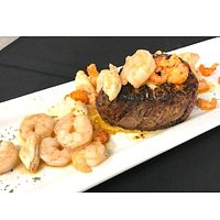 Signature Filet topped with our Gulf Coast Topping