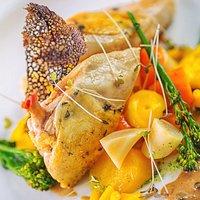 Kuracie prsia Supreme s grilovanou zeleninou na mede