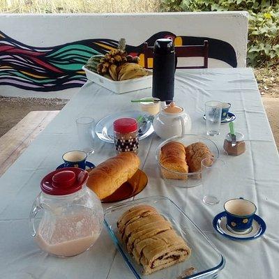 Café da manhã orgânico!!