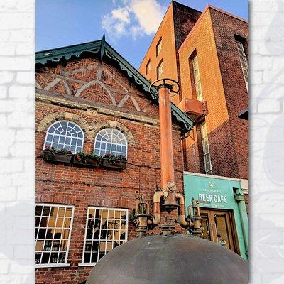 Beer Café Entrance