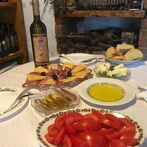 Dalmatian food and wine