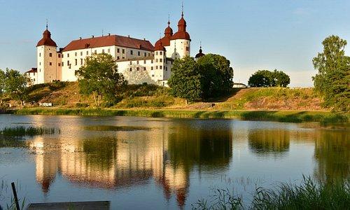 Schloss Läckö Südwest-Ansicht