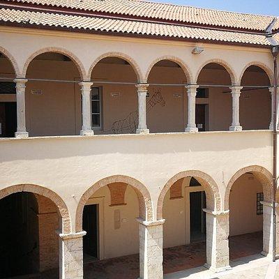 Interno del Palazzo ducale, sede del comune