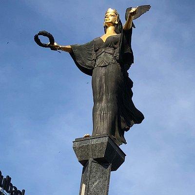 The statue of Sofia.