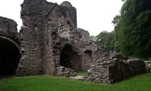 Exterior of Netley Abbey