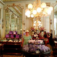 The lovely chocolate shop.