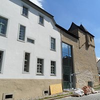Renovierungen am Schloss Lauterecken