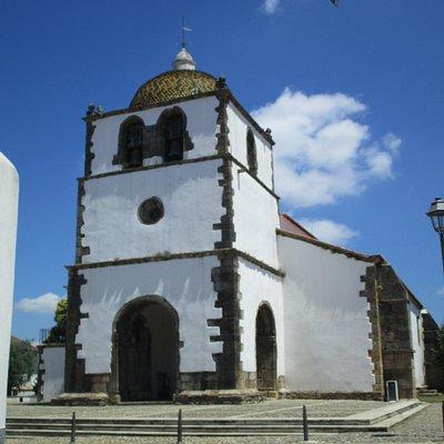 exterior da bela igreja