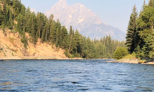 Beautiful views on the Snake River