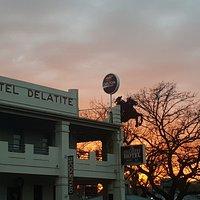 Delatite Hotel sunrise