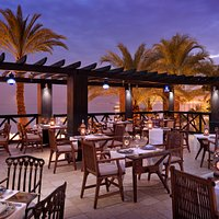 Red Sea Grill is a striking and elegant seafood restaurant that features Afro-Arab cuisine.