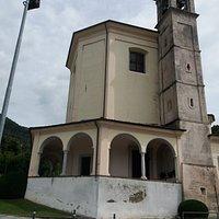La chiesa ed il campanile