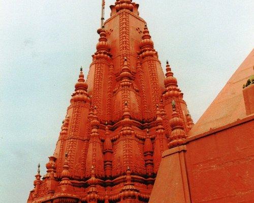 Durga Mandir (Monkey Temple) (दुर्गा मंदिर) in Varanasi, India