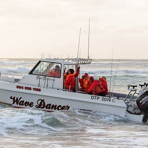 Wave Dancer Deep See Fishing Charter - The Boat