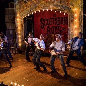 SpeakEasy Stage's 2016 Production of THE SCOTTSBORO BOYS. Photos by Nile Scott Studios.