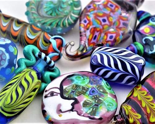 Glass Beads and glass blowing