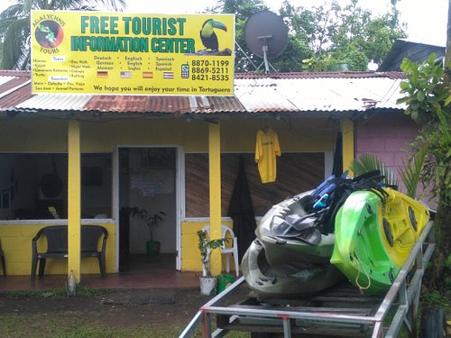 The Mainoffice from Agalychnistours in Tortuguero