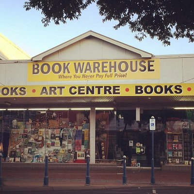 The Book Warehouse, in Lismore - for all your bookish needs.
