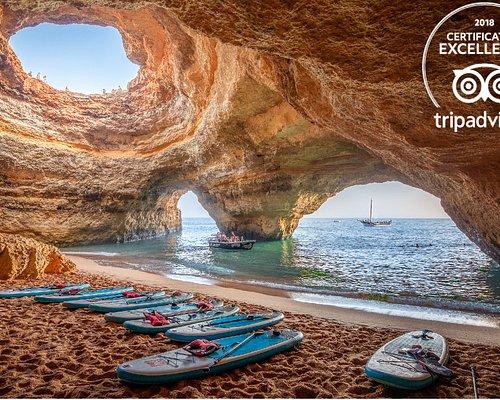 SUP Benagil Cave,..