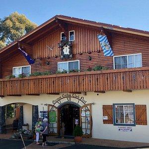 German Cuckoo Clock House