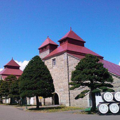 Nikka Whisky Yoichi Distillery is along the route, or at the start of the route.