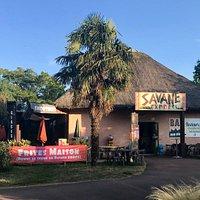 """Restaurant """"La Savane Express"""" au coeur du Zoo Planète sauvage"""