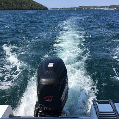 Porec Boat Trip