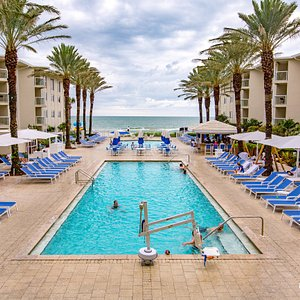 The Pool at the Edgewater Beach Hotel