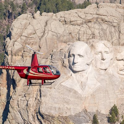 The only aerial tour company with authorization to fly in the Mt. Rushmore National Park