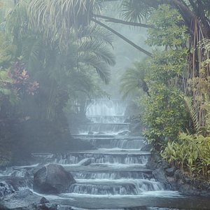 Thermal paradise in the heart of the Rainforest.