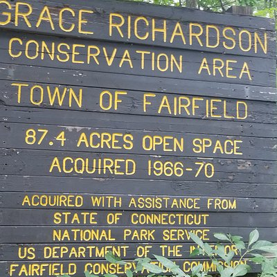 Sign upon the entrance