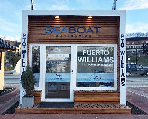 Seaboat Navigation ticket office - Port of Ushuaia