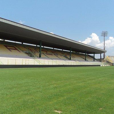 foto della tribuna centrale