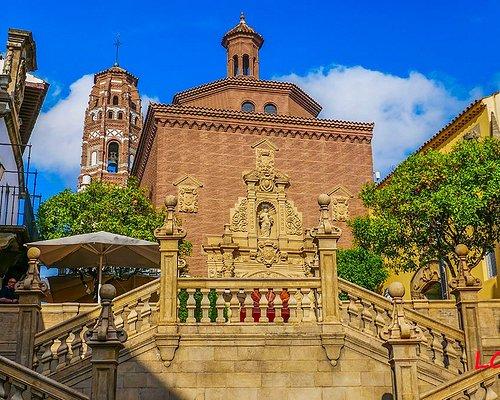 Open air Spanish village museum
